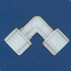 Jaco - Kynar, Nylon, And Polypropylene Tube And Hose Elbow Fitting -- 61013 - Image