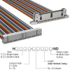 Rectangular Cable Assemblies -- H3CWH-4006M-ND -Image