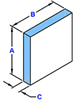 Square Mirror -- M-CFS002 - Image