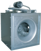Square Inline Centrifugal Fan, Belt Driven -- BSI