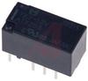 Relay;E-Mech;High Voltage;DPDT-NO/NC;Cur-Rtg 2A;Ctrl-V 12DC;Vol-Rtg 30DC;PCB Mnt -- 70158587 - Image