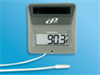 Digi-Sense Calibrated Solar-Powered Digital Thermometer with External Probe -- GO-94460-75