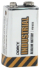 Alkaline Batteries -- 41-1854 72PC - 9V INDUSTRIAL ALKALINE BATTERIES - BOXED