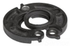 Flange Fitting -- 744-6IN-E-BLK