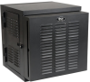 SmartRack 12U IP54 Switch-Depth Wall-Mount Rack Enclosure Cabinet for Harsh Environments, Hinged Back, 230V -- SRWX12USNEMA