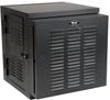 SmartRack 12U IP54 Switch-Depth Wall-Mount Rack Enclosure Cabinet for Harsh Environments, Hinged Back, 230V -- SRWX12USNEMA