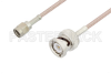 Reverse Polarity SMA Male to BNC Male Cable 60 Inch Length Using RG316 Coax, LF Solder, RoHS -- PE3C3413LF-60 -Image