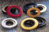 Spring-loaded, single lip, PTFE shaft seals -- Brand: National®