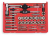 Tap and Die Set,Carbon,Metric,40 Pcs -- 2LKN8