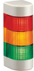 LIGHT TOWER,3 - LIGHT,24V AC/DC,RED,YELLOW,GREEN,WALL MOUNT -- 70038770