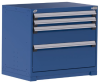 Heavy-Duty Stationary Cabinet , 4 Drawers (36