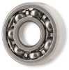 Mini Ball Bearing,Open,Bore 0.0400 In -- 1ZEL7 - Image