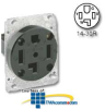 Leviton 125/250V Flush Mount Receptacle -- 278
