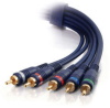 1.5ft Velocity™ Component Video + RCA Stereo Audio Cable -- 2201-40006-002 - Image