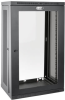 SmartRack 21U Low-Profile Switch-Depth Wall-Mount Rack Enclosure Cabinet with Clear Acrylic Window -- SRW21UG -- View Larger Image