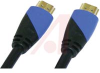 HDMI (M-M) CABLE 1.4 W/ETHERNET CL3 28 AWG 1080P 10ft -- 70121553 - Image