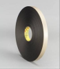 3M 4492 Black Foam Mounting Tape - 3/4 in Width x 72 yd Length - 1/32 in Thick - 30421 -- 021200-30421 -- View Larger Image