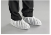 Ansell Microchem 2000 White 12 to 14 Disposable General Purpose Shoe Covers - 076490-17930 -- 076490-17930 - Image
