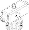 Ball valve actuator unit -- VZBA-1