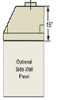 Side Wall Panel for Wall and Island Canopy Hoods, 1 Side -- GO-33731-86