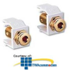 Leviton Banana Jack, Gold Plated -- 40837-B