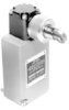 Enclosed Switches Series LS: Side Roller Plunger; 1NC 1NO DPDT Snap Action, Double Break; 0.5 in - 14NPT conduit; Plug-in -- 203LS1