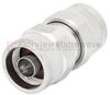 Low PIM N Male (Plug) to N Male (Plug) Adapter, Tri-Metal Plated Brass Body, High temp -- FMAD1033