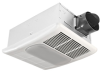 BreezRadiance Ventilation Fan -- RAD80L 80 CFM Fan/Light Combo with Heater