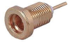 RF Coaxial Panel Mount Connector -- 22MMCX-50-0-4/H -Image