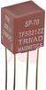 Transformer, PC Audio;Plug-In;Pri:600 Ohms;Sec:600 Ohms;MIL-T-27E;50mW;150VDC -- 70218233 - Image