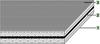 S Tangential/flat Polyamide Power Transmission Belt -- S-140H - Image