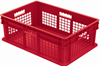 Container, Straight Wall Container, MeshSolid -- 37678RED