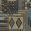 Chenille Patch Contemporary Fabric -- R-Tempo -- View Larger Image