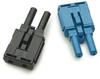POF Duplex Connector (blue) for AFBR-5972xZ -- AFBR-452BZ