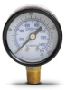 0-200 psi / 0-1400 kPa Pressure Gauge with 1.5 inch mechanical dial -- G15-BD200-8LB - Image