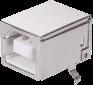 Horizontal USB B Modular Jack -- AJT30g4413-001 - Image