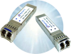 Small Form Pluggable Plus (SFP+) Optical Transceivers -- SFP-8500LX-AT10K