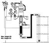 Air-Assisted Airless -- 98-3053 3B 55 gallon Wall Outfit w/Gun - Image