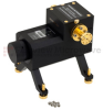 0 to 50 dB WR-10 Waveguide Direct Read Attenuator From 75 GHz to 110 GHz, Dial UG-387/U-Mod Flange -- SMW10AT5001 - Image