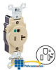 Leviton Back and Side Wired Single Receptacle -- 8310