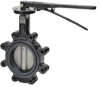 Butterfly Valve With Manual Handles -- F6 Series