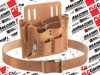 """KLEIN TOOLS 55210 ( TOOL POUCH AND BELT SET, 1.2LB; BAG TYPE:TOOL / BELT POUCH; ENCLOSURE MATERIAL:LEATHER; EXTERNAL HEIGHT - IMPERIAL:10""""; EXTERNAL HEIGHT - METRIC:254MM ) -Image"""