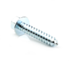 "5/16"" x 1-5/8"" Hex Washer Head Sheet Metal Screw, Type A, 5/16"" Head Height, 7/16"" Across Flats, Zinc -- SMSHWD0250150AZ"