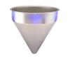 Stainless Steel Seamless Hopper Funnel, 7.3 Gal., 16.08