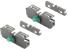 Overhead Wire Mesh Cable Tray : Wyr-Grid Splice Connectors -- WGSPL2430BL