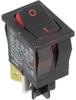Switch, Miniature CURVETTE, SNAP IN,VISI-Rocker -- 70132011