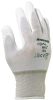 North NF15 White 11 Nylon Full Fingered Work & General Purpose Gloves - Polyurethane Palm Only Coating - NORTH NF15/11XXL -- NORTH NF15/11XXL