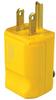 Pass & Seymour® -- MaxGrip M3 Plug, Yellow - PS5965Y