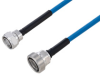 Plenum 4.3-10 Male to 7/16 DIN Female Low PIM Cable 100 cm Length Using SPP-250-LLPL Coax Using Times Microwave Parts -- PE3C6230-100CM -Image