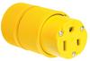 Pass & Seymour® -- Gator Grip Connector, Yellow - D0653